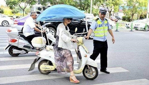 武汉骑电动车违章会被扣车吗?