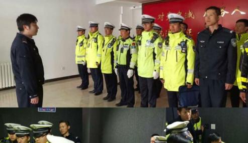 河北交警大队提升执法质量开展酒驾执法培训